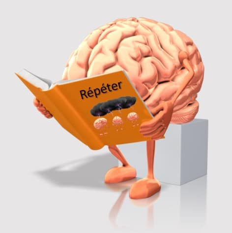 Répéter, stratégie « R » de l'habitude au réflexe