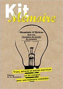 Kit mémoire Dominic O'Brien : Un guide, 50 fiches