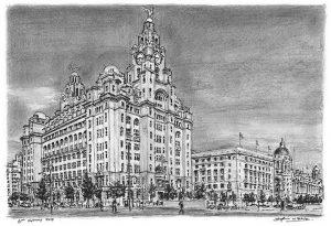 Le Liver Building, Liverpool