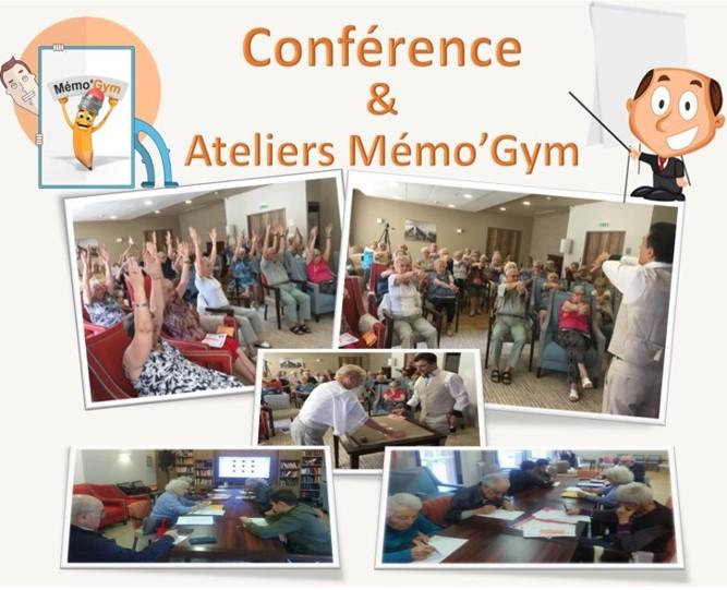Mémo'Gym conférence-atelier