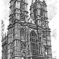 Abbaye de Westminster par Stephen Wiltshire